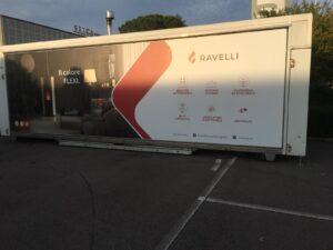 Stand Ravelli Stufe a Pellet